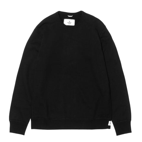 Reigning Champ Core Midweight Terry Crewneck Black