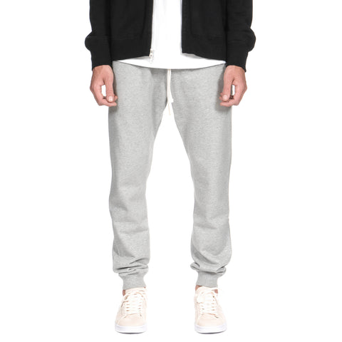 Reigning Champ Core Midweight Terry Slim Sweatpant H. Gray