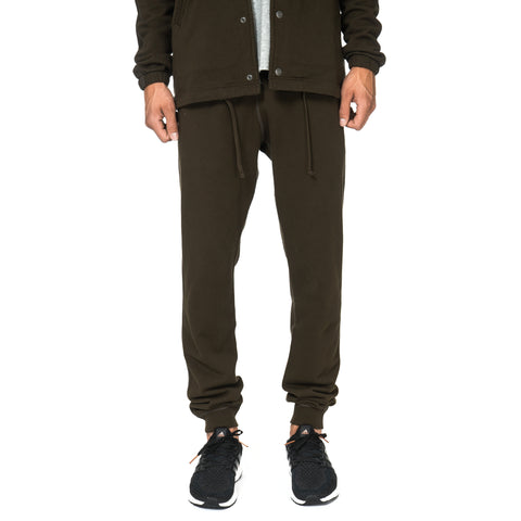 Reigning Champ Core Midweight Terry Slim Sweatpant Olive
