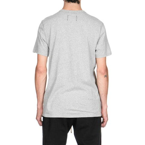 Reigning Champ Core Ringspun Jersey Set-In Tee H. Gray