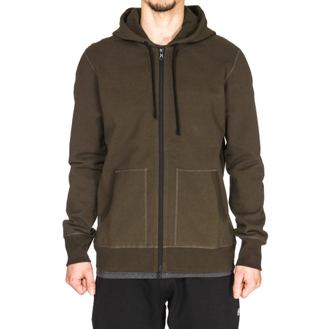 reigning champ Heavyweight Terry Full Zip Hoodie Olive