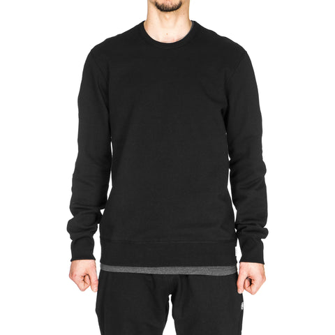 reigning champ Heavyweight Terry LS Crewneck Black