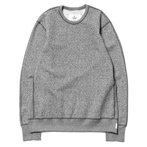 reigning champ Heavyweight Terry LS Crewneck E.Charcoal