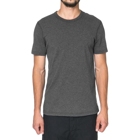 Reigning Champ Core Cotton Jersey SS Crewneck Tee H.Charcoal