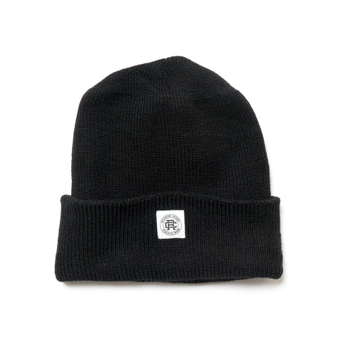 reigning champ Merino Wool Toque black