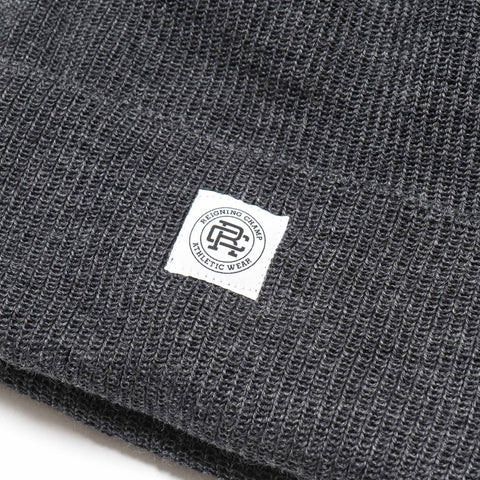 reigning champ Merino Wool Toque Charcoal