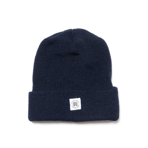 reigning champ Merino Wool Toque Navy