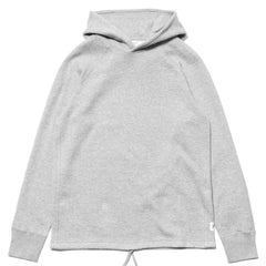 Reigning Champ Mesh Double Knit Pullover Hoodie H.Gray