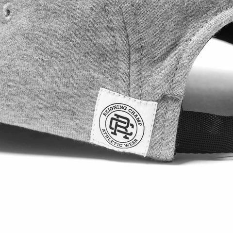 Midweight Terry 5-Panel Cap H.Grey