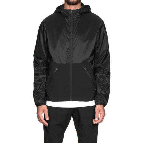 Reigning Champ Woven Micro Ripstop Insulated Hooded Jacket Black