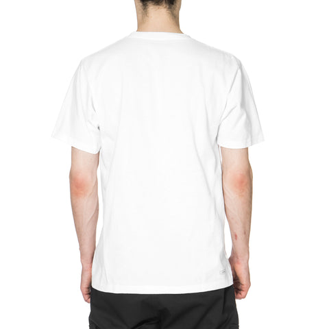 SOPHNET. Camouflage Arch logo Tee White