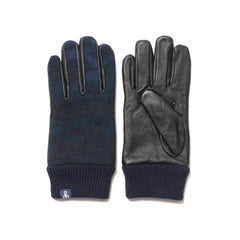 SOPHNET. Camouflage Touch Glove Navy