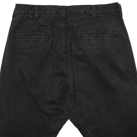 SOPHNET. Cropped Wide Tapered Pant Black