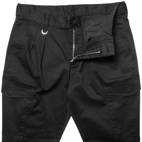 SOPHNET. Stretch Cotton Ribbed Cargo Pant Black