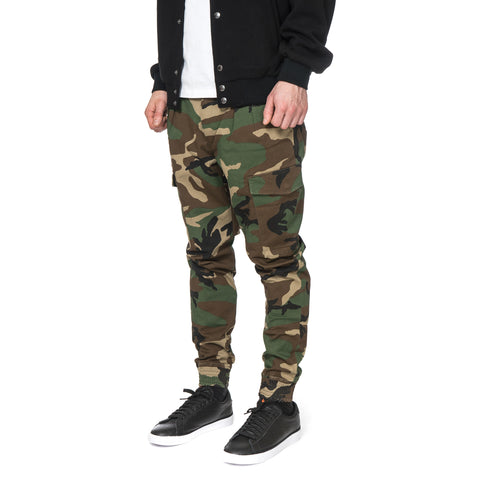SOPHNET. Stretch Cotton Ribbed Cargo Pant Woodland