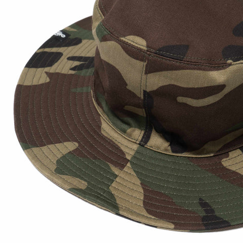 SOPHNET. Wide Brim Hat Woodland