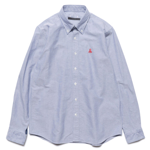 SOPHNET. Bandana Panel B.D Shirt Navy