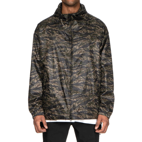 sophnet. Light Weight Polyester Zip Up Hoody Khaki (Tiger Camo)
