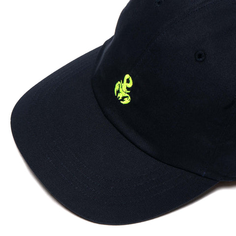 SOPHNET. Scorpion Logo Cotton Twill Cap Navy