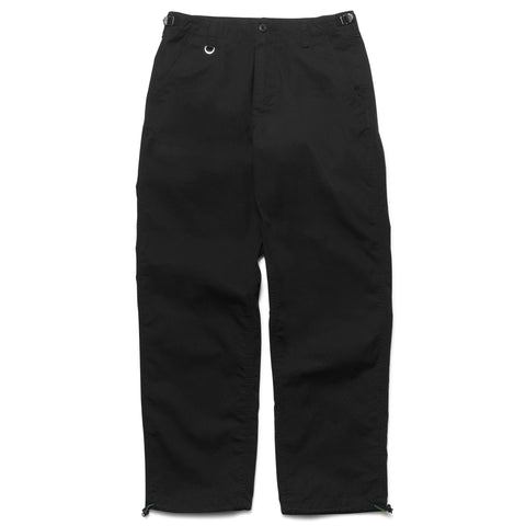 SOPHNET. Wide Drawstring Pant Black