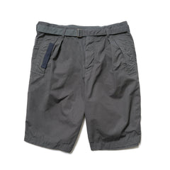 sacai Overdyed Shorts Gray