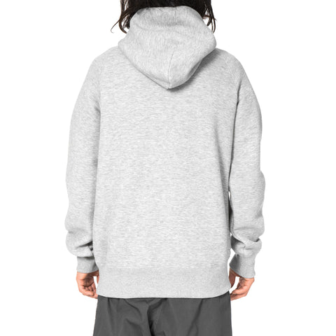 sacai Sweats Parka Light Gray