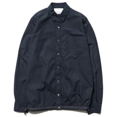 sacai Typewriter Pattern Shirt Navy
