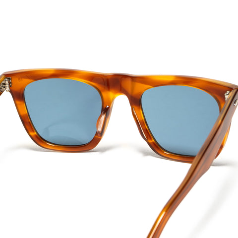 Shady Character Alpha Sunglasses Light Brown/Blue