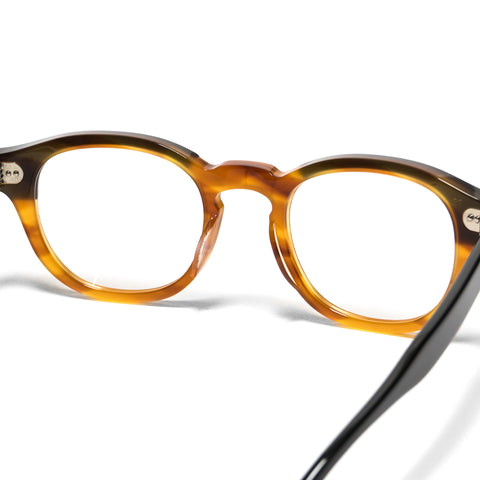Shady Character Arnie 48 Optical Black/Light Brown/Clear, Eyewear