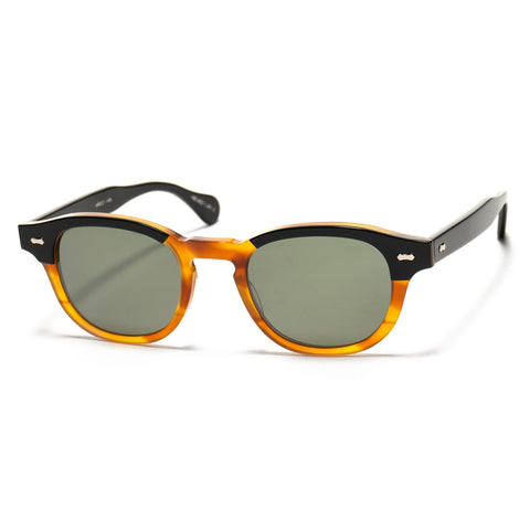 Shady Character Arnie 48 Sunglasses Black/Light Brown/G-15