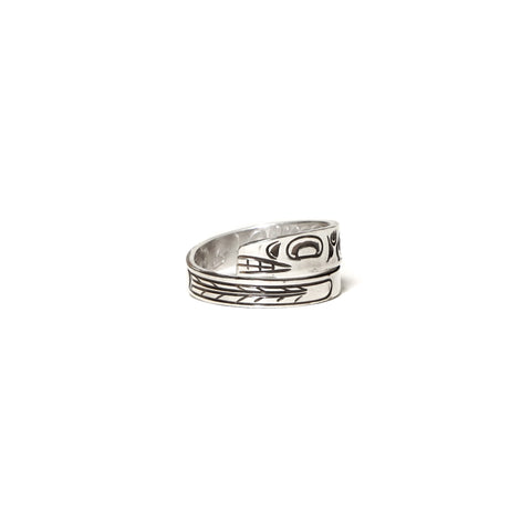 MAPLE Silver 925 Orca Wrap Ring