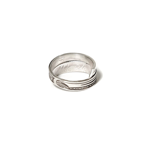 Silver 925 Orca Wrap Ring