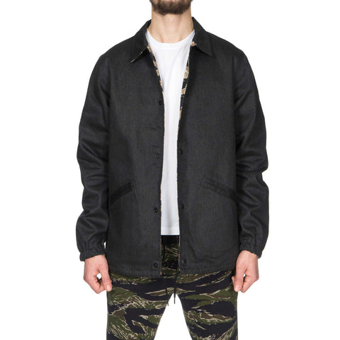 SHOPNET. Reversible Coach Blouson Black