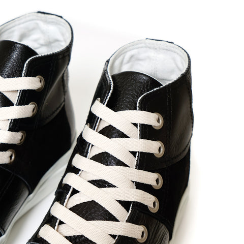 Comme Des Garcon HOMME Steer Multi Fabrics Mix High Top Sneaker