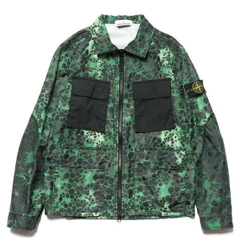 Stone Island Alligator Camo Jacket Green