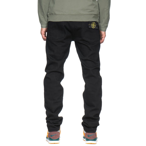 stone island Black Denim Stretch Slim