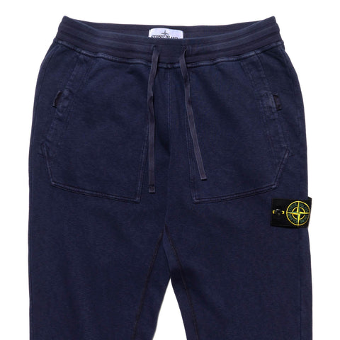 stone island Brushed Cotton Garment Dyed Old Effect Jogger Ink