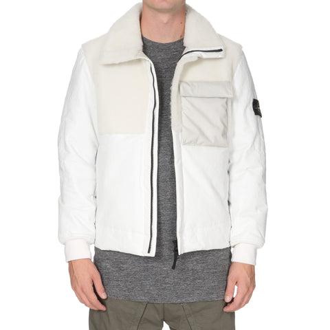 stone island Featherweight Leather with PRIMALOFT® Insulation Fur Jacket