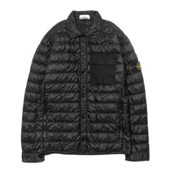 Stone Island Garment Dyed Micro Yarn Down Light Outerwear Black