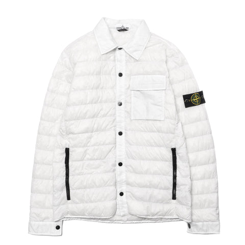Stone Island Garment Dyed Micro Yarn Down Light Outerwear Ice