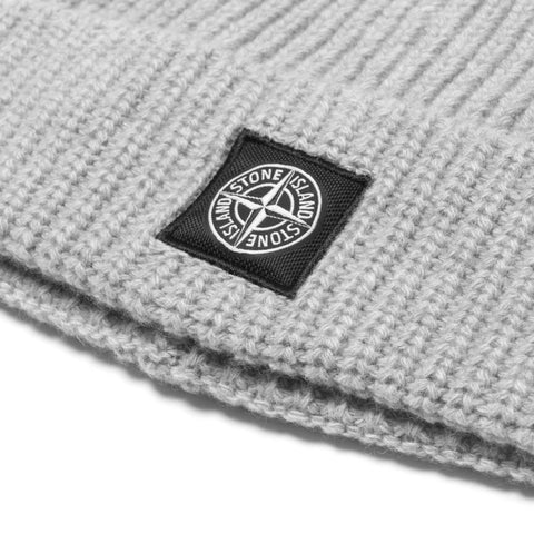stone island Geelong Wool Knit Beanie Gray