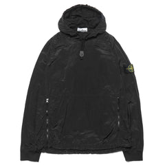 stone island Nylon Metal Lined Garment Dyed Hooded Smock Black