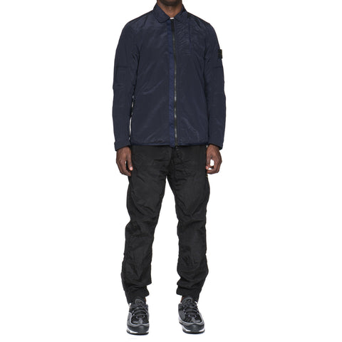 Stone Island Nylon Metal Lined Garment Dyed Overshirt Ink