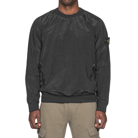 stone island Nylon Metal Lined Garment Dyed Smock Black
