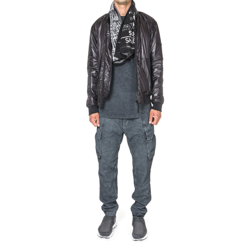 Stone Island Shadow Project Cargo Pants Comfort Cotton Gabardine Fallout Colour Treatment Anthracite