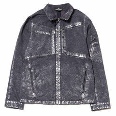 Stone Island Shadow Project David-C Garment Dyed Color Metal Treatment Short Jacket