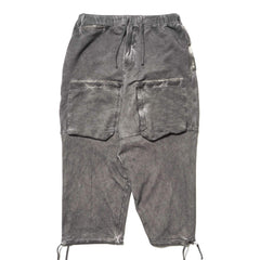 Stone Island Shadow Project Felpa Cotton Tinto Capo Cropped Drawstring Pant