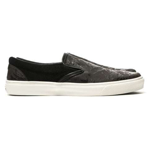 stone island shadow project Laser Printed Leather Shoes Black