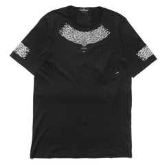 Stone Island Shadow Project Mako Jersey SS T-Shirt Black