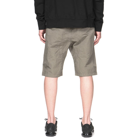 stone island shadow project Naslan Garment Dyed Bermuda Shorts Olive